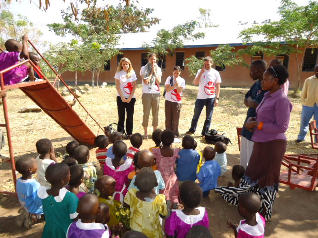 Children at one of the Early Childhood Development (ECD) centres in Shinyanga supported by Save the Children under Tutunzane II project.