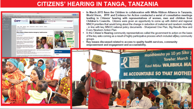 poster of citizens' hearing